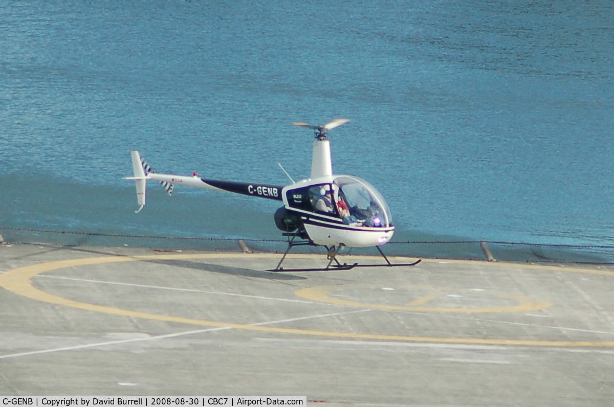 C-GENB, 1991 Robinson R22 Mariner C/N 2014M, Robinson R22 Mariner - Vancouver Harbour