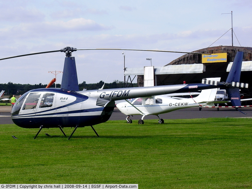 G-IFDM, 1999 Robinson R44 Astro C/N 0707, MFH HELICOPTERS LTD