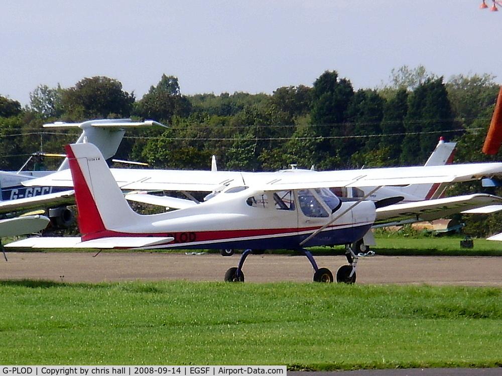 G-PLOD, 2004 Tecnam P-92EM Echo C/N PFA 318-14152, private