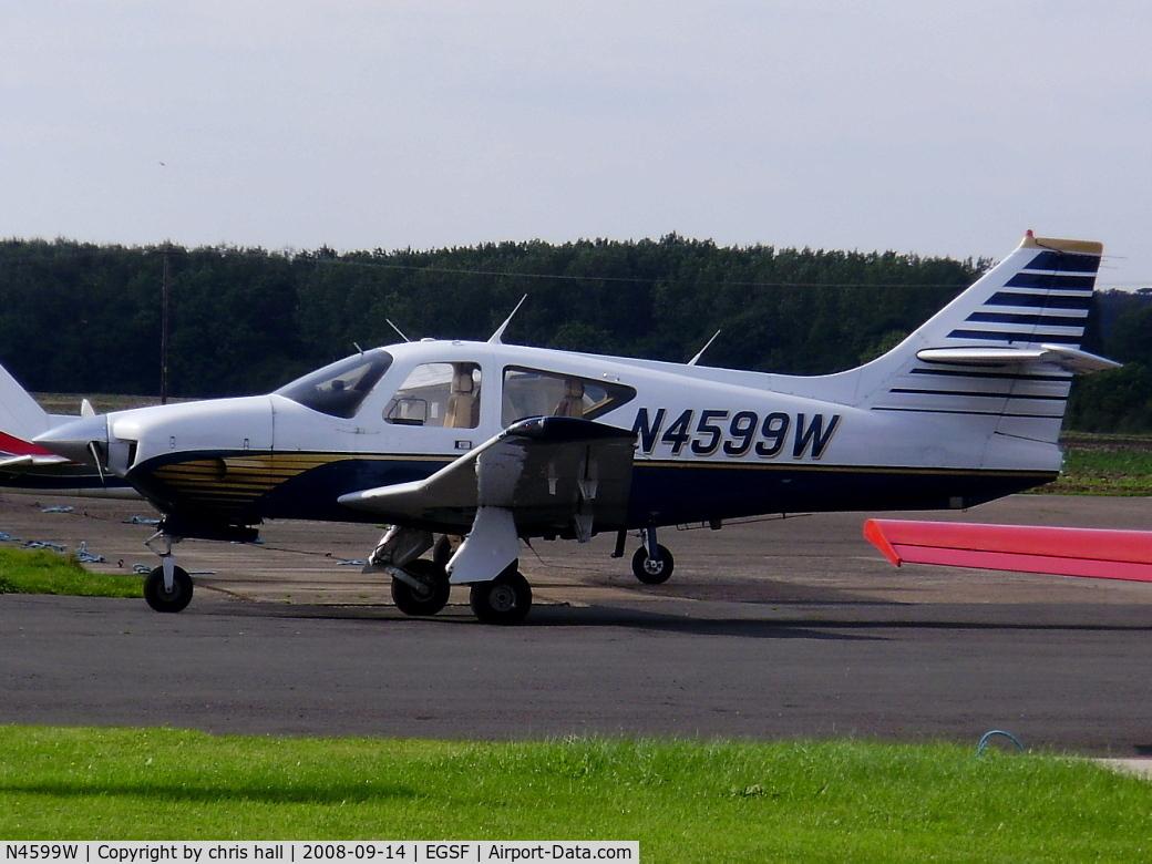 N4599W, 1976 Rockwell International 112TC Commander C/N 13089, private