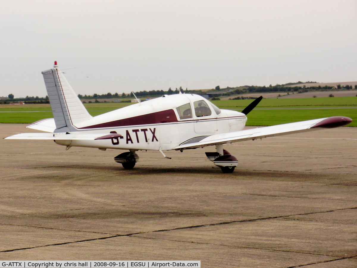 G-ATTX, 1966 Piper PA-28-180 Cherokee C/N 28-3390, private