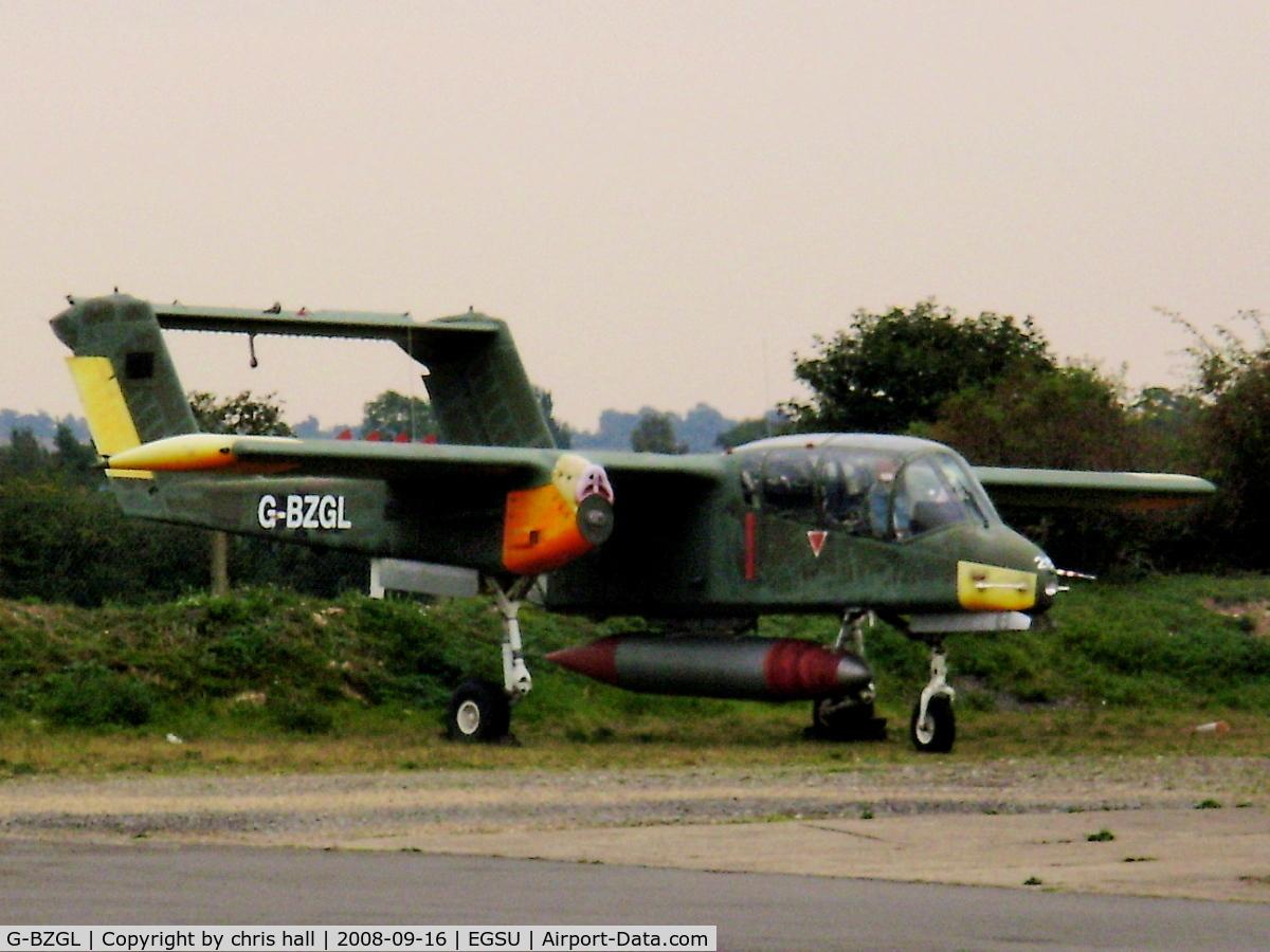 G-BZGL, 1971 North American OV-10B Bronco C/N 338-11, INVICTA AVIATION LTD. Ex German AF. Previous ID: 99+26