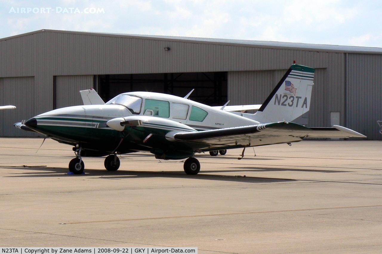 N23TA, 1978 Piper PA-23-250 Aztec F C/N 27-7854114, At Arlington Municipal