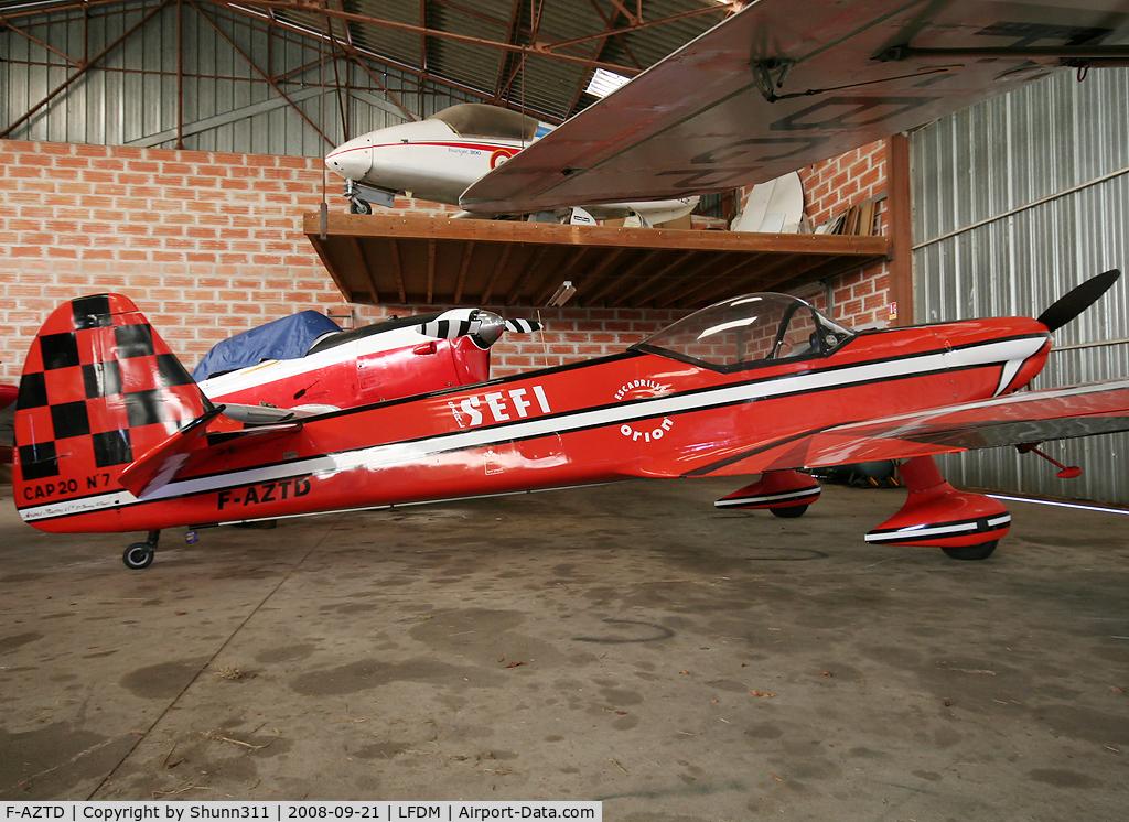 F-AZTD, Mudry CAP-20 C/N 07, Hangared...