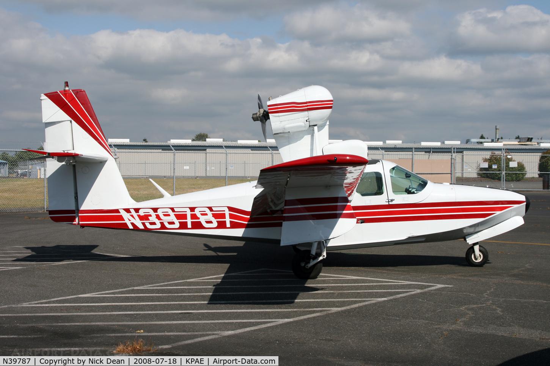 N39787, 1973 Lake LA-4-200 Buccaneer C/N 551, /