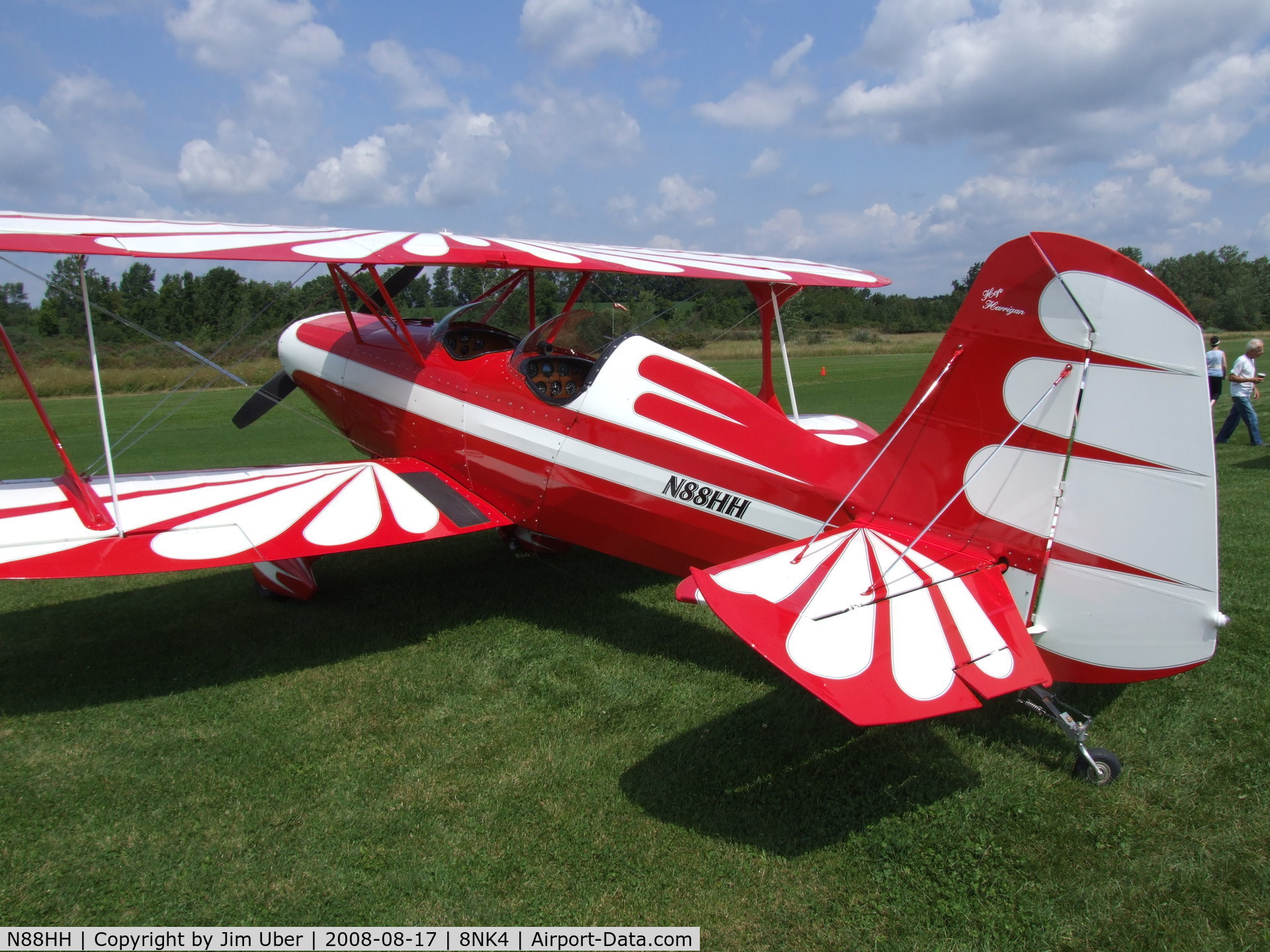 N88HH, 1997 Stolp SA-300 Starduster Too C/N 340, Seen at the Bethany Hot-Dog Day
