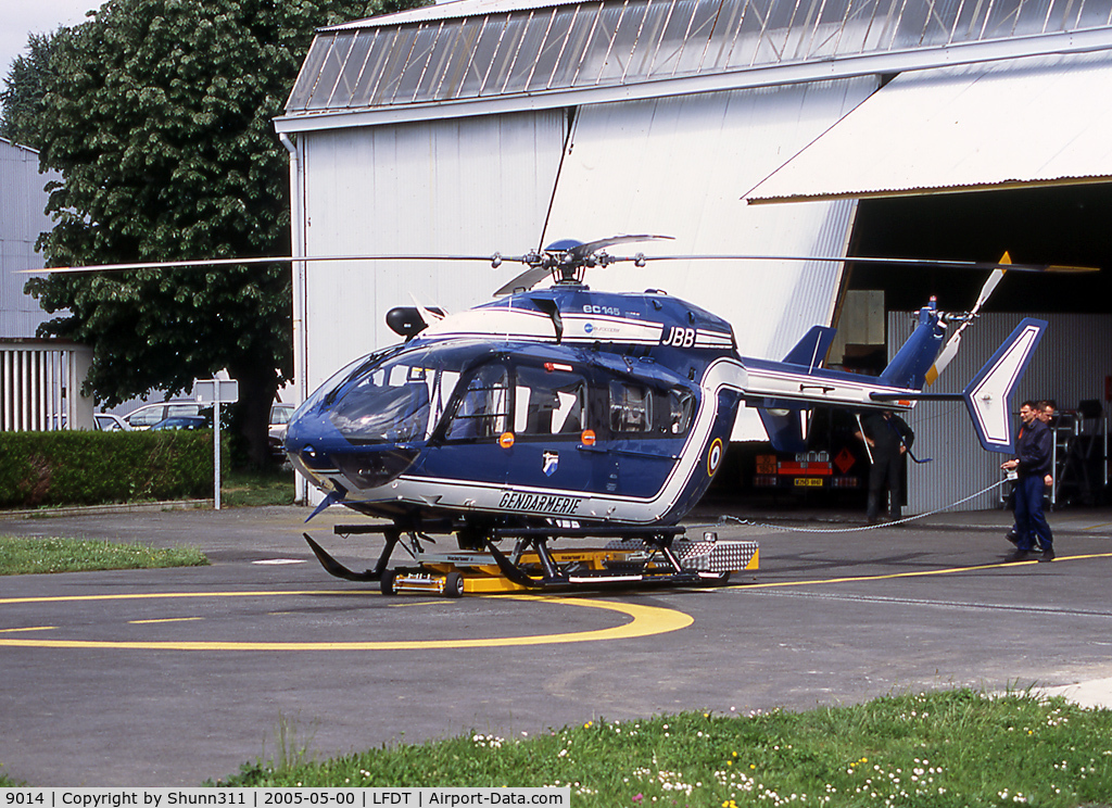 9014, 2002 Eurocopter-Kawasaki EC-145 (BK-117C-2) C/N 9014, At his home base...