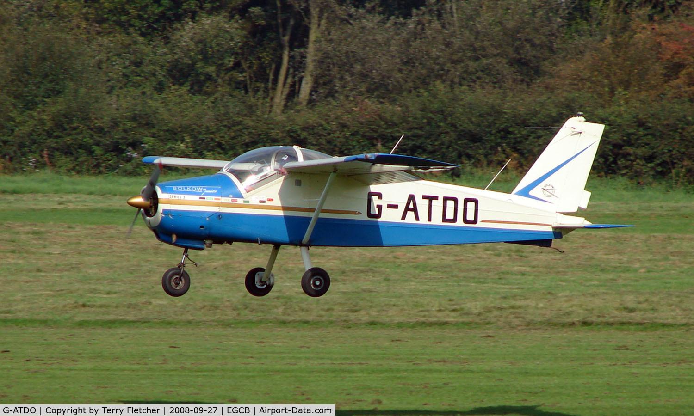 G-ATDO, 1965 Bolkow Bo-208C Junior C/N 576, Bolkow BO208C at Barton