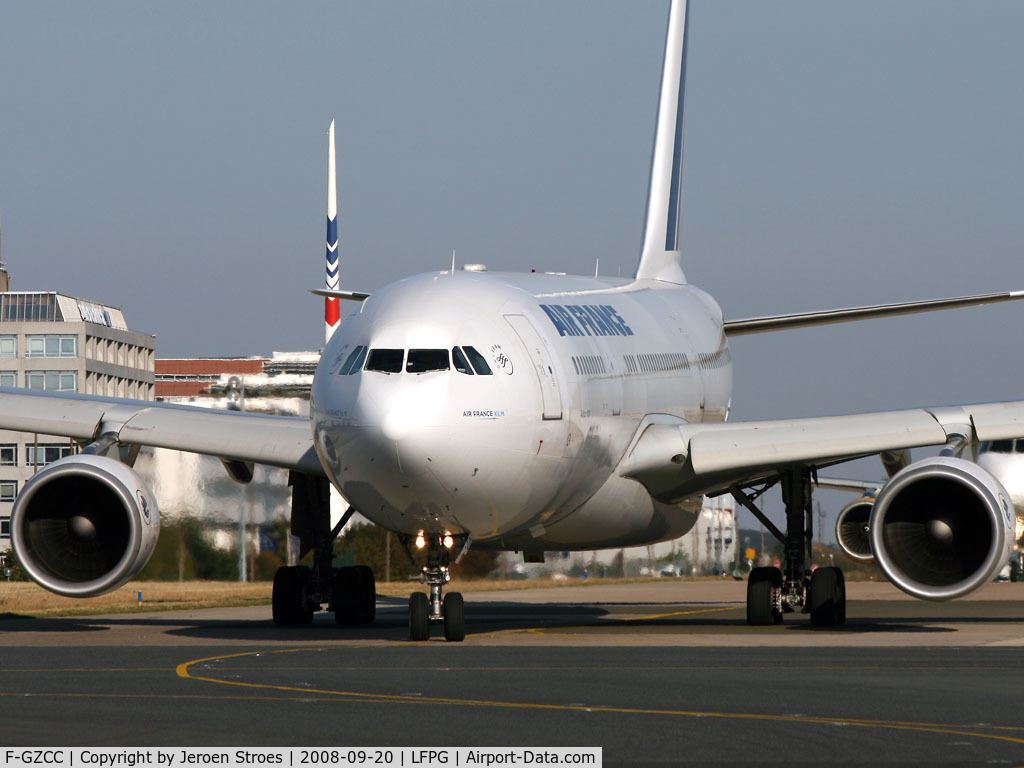 F-GZCC, 2002 Airbus A330-203 C/N 448, .
