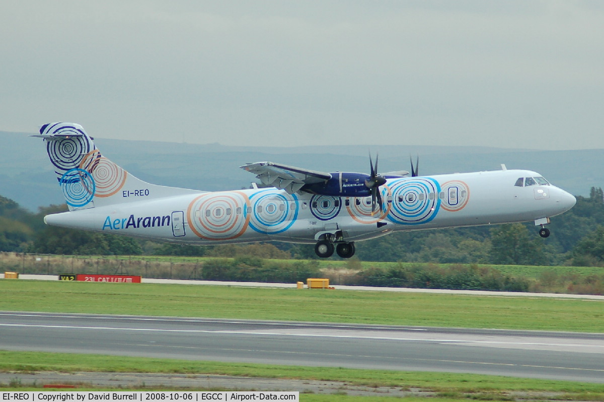 EI-REO, 2008 ATR 72-212A C/N 787, Aer Arann - Taking Off