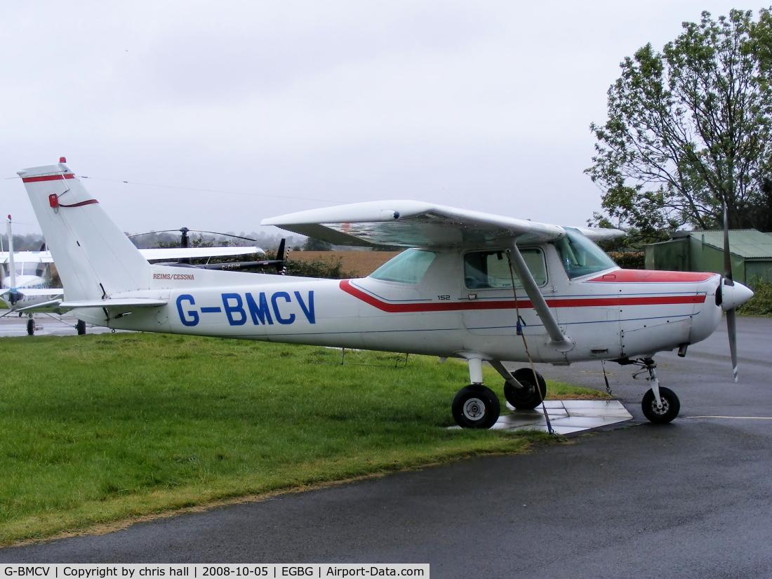 G-BMCV, 1963 Reims F152 C/N 1963, Leicestershire Aero Club