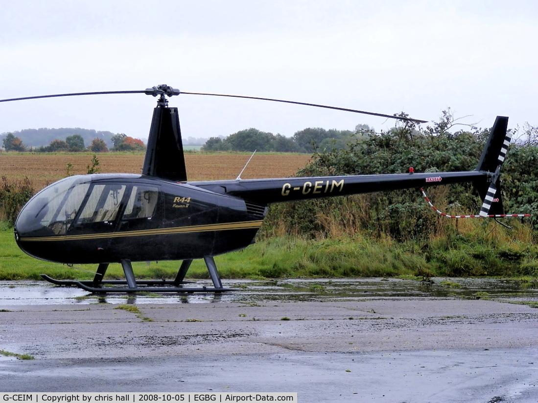 G-CEIM, 2007 Robinson R44 Raven II C/N 11583, private