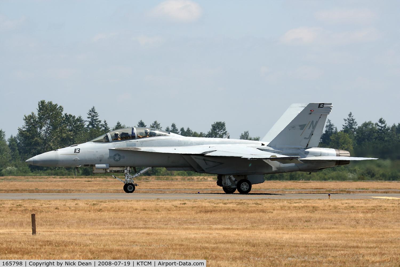 165798, Boeing F/A-18F Super Hornet C/N 1527/F024, McChord Airshow