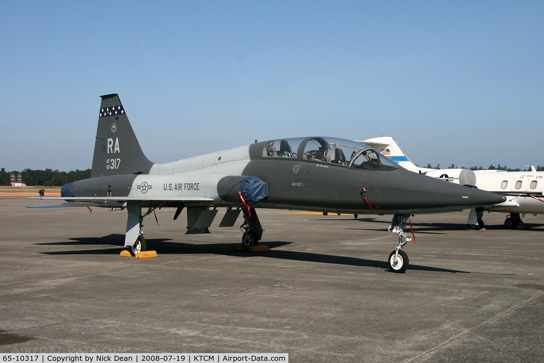 65-10317, 1965 Northrop T-38A Talon C/N N.5736, McChord Airsow