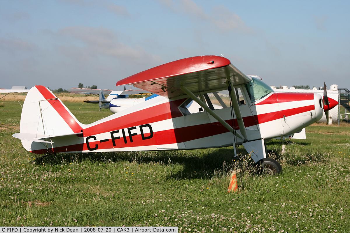 C-FIFD, 1957 Piper PA-22-150 C/N 22-4998, Delta Airpark BC