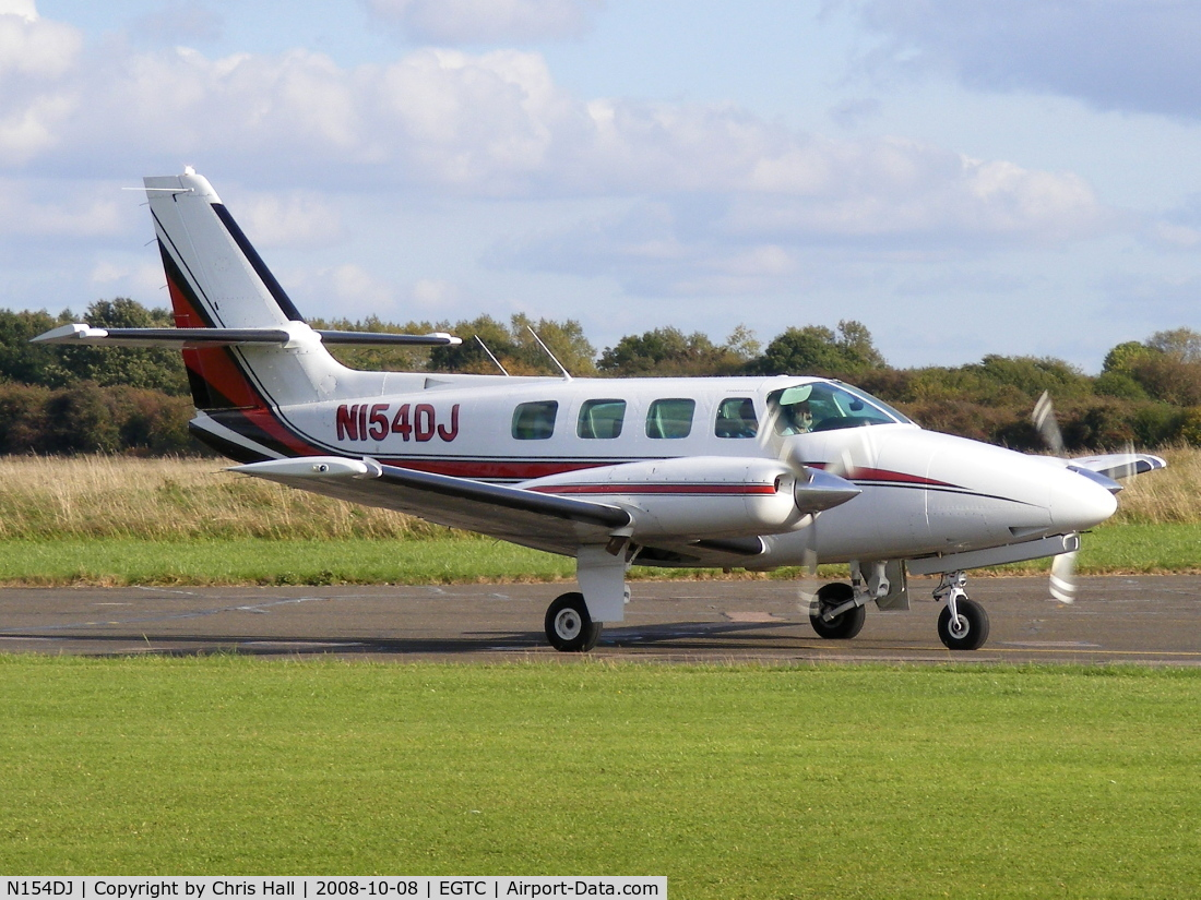 N154DJ, 1983 Cessna T303 Crusader C/N T30300230, N154DJ INC TRUSTEE