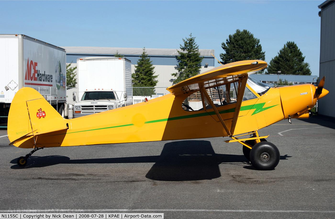 N1155C, 1953 Piper PA-18-135 Super Cub C/N 18-2457, /