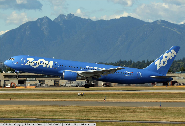 C-GZUM, 1993 Boeing 767-328 C/N 27135, /