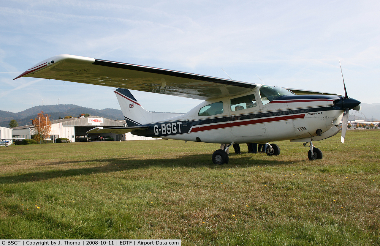 G-BSGT, 1979 Cessna T210N Turbo Centurion C/N 210-63361, Cessna T210N Centurion II