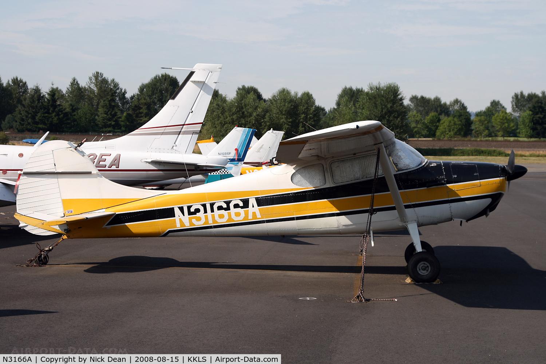 N3166A, 1953 Cessna 170B C/N 25810, /
