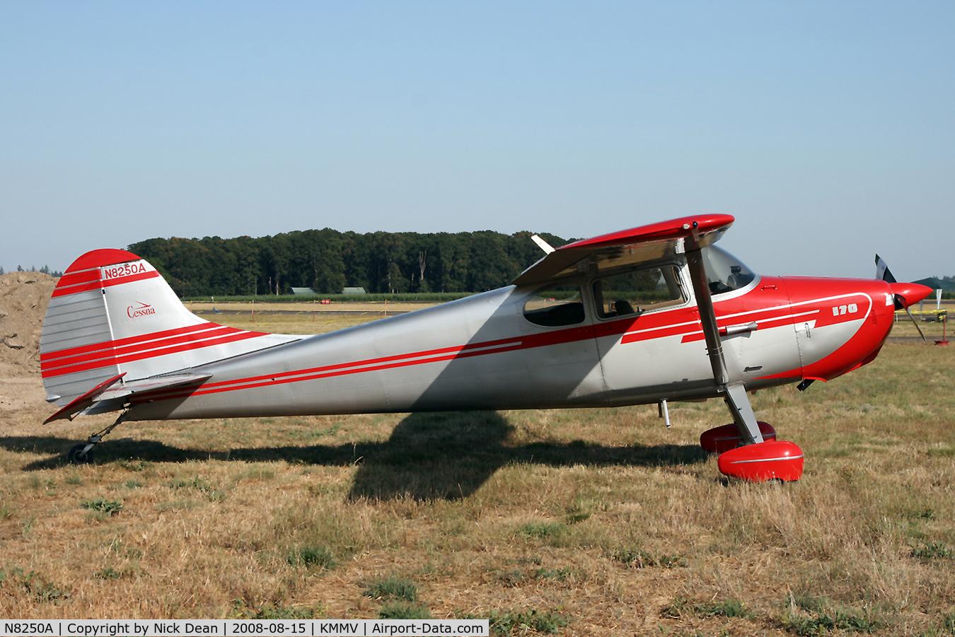 N8250A, 1952 Cessna 170B C/N 25102, /