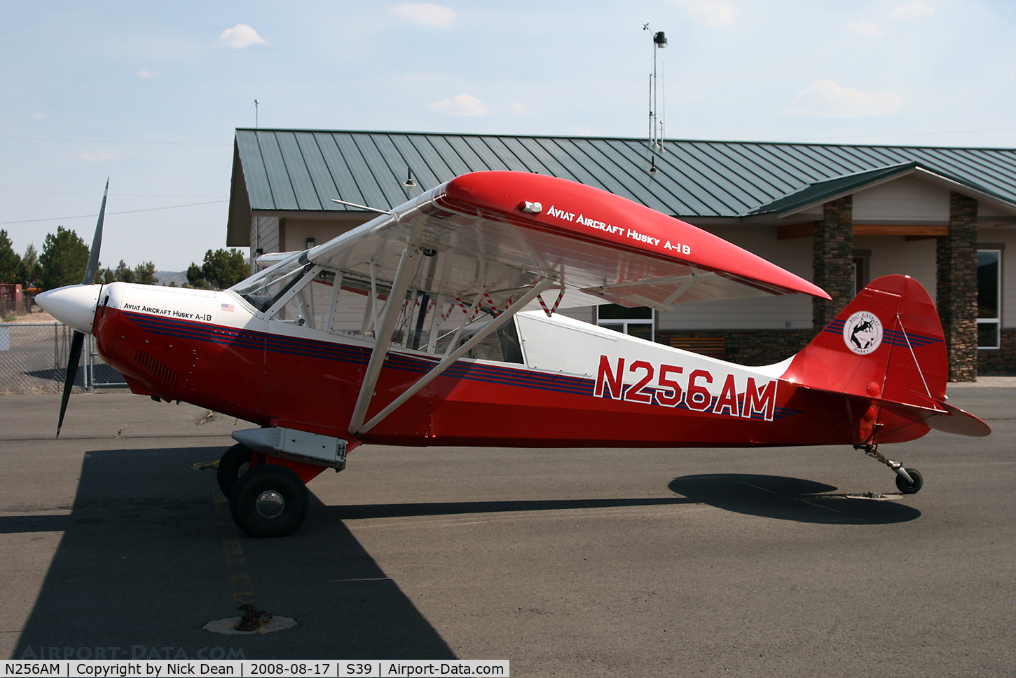 N256AM, 2003 Aviat A-1B Husky C/N 2256, /