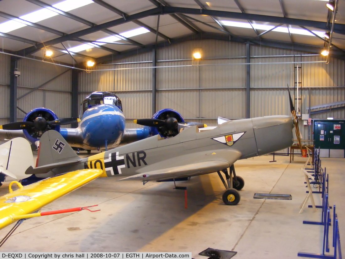 D-EQXD, Klemm Kl-35D C/N 5050, The Shuttleworth Collection, Old Warden