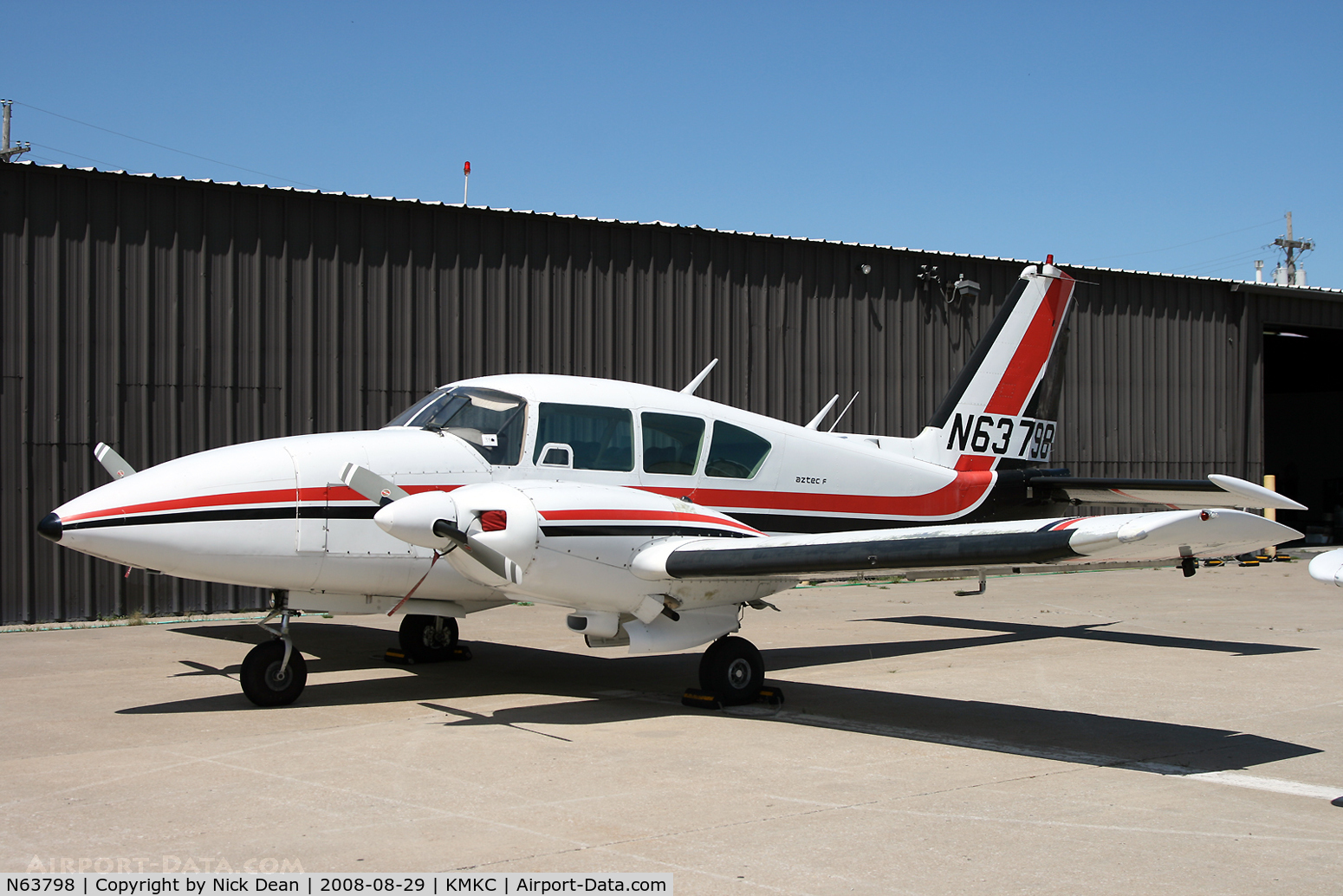 N63798, 1977 Piper PA-23-250 C/N 27-7754124, /
