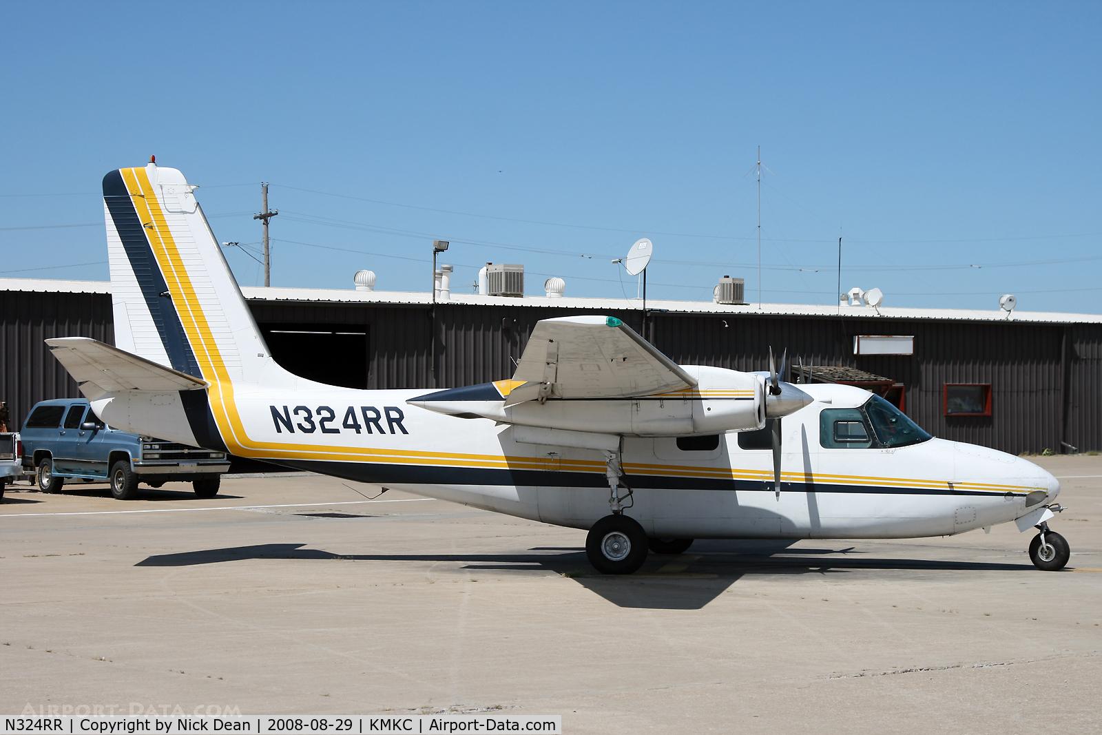 N324RR, 1964 Aero Commander 500-B C/N 1386-139, /
