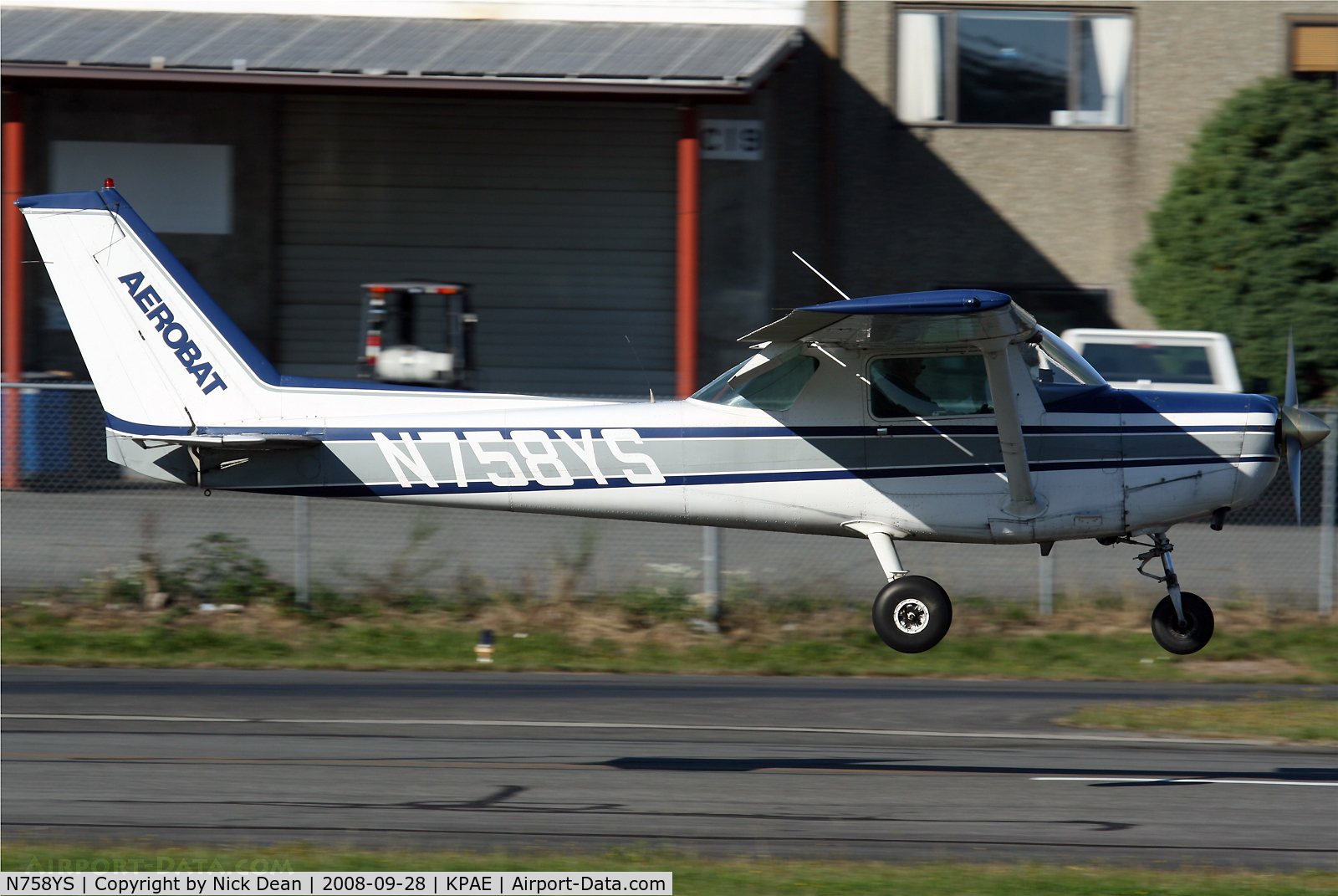 N758YS, 1982 Cessna A152 Aerobat C/N A1521017, /