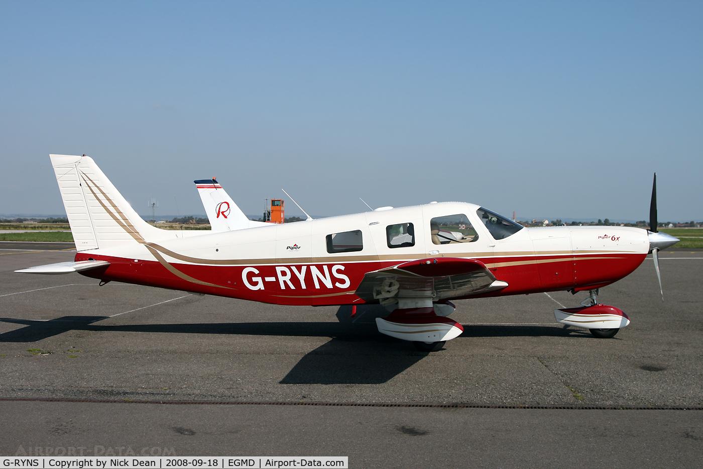 G-RYNS, 2007 Piper PA-32-301FT 6X Saratoga C/N 3232071, /
