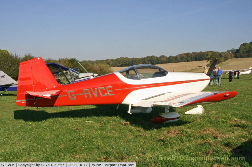 G-RVCE, 2001 Vans RV-6A C/N PFA 181-13372, Hex: 40459B