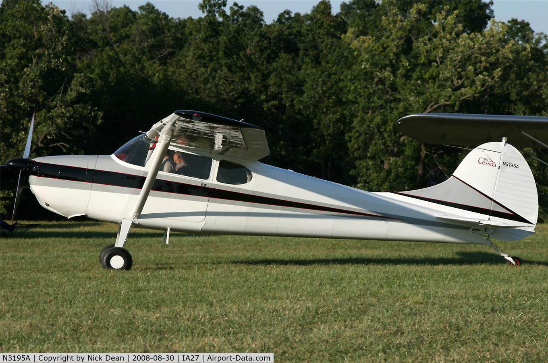 N3195A, 1953 Cessna 170B C/N 25839, /