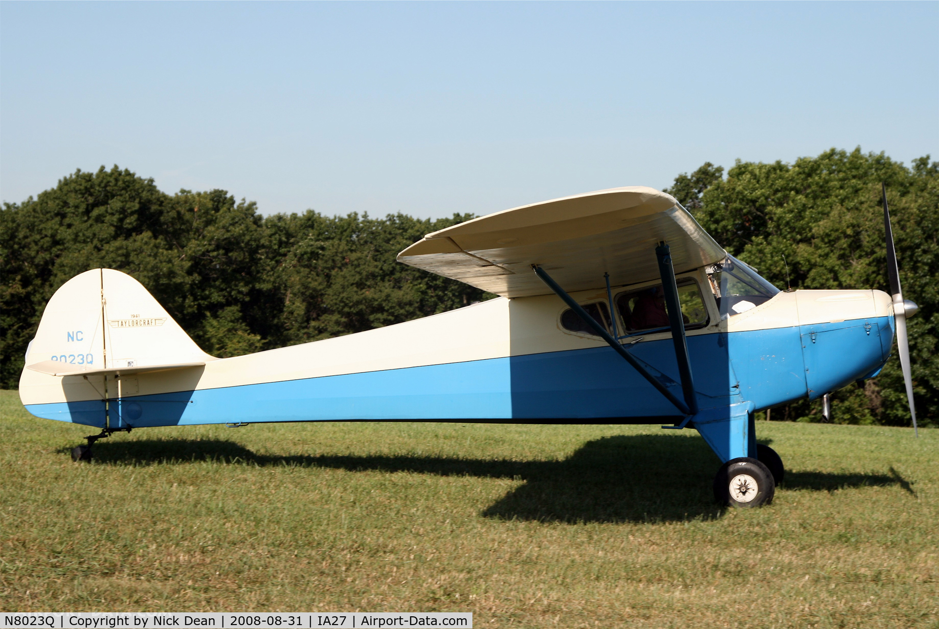 N8023Q, Taylorcraft BCS-65 C/N 3135, /