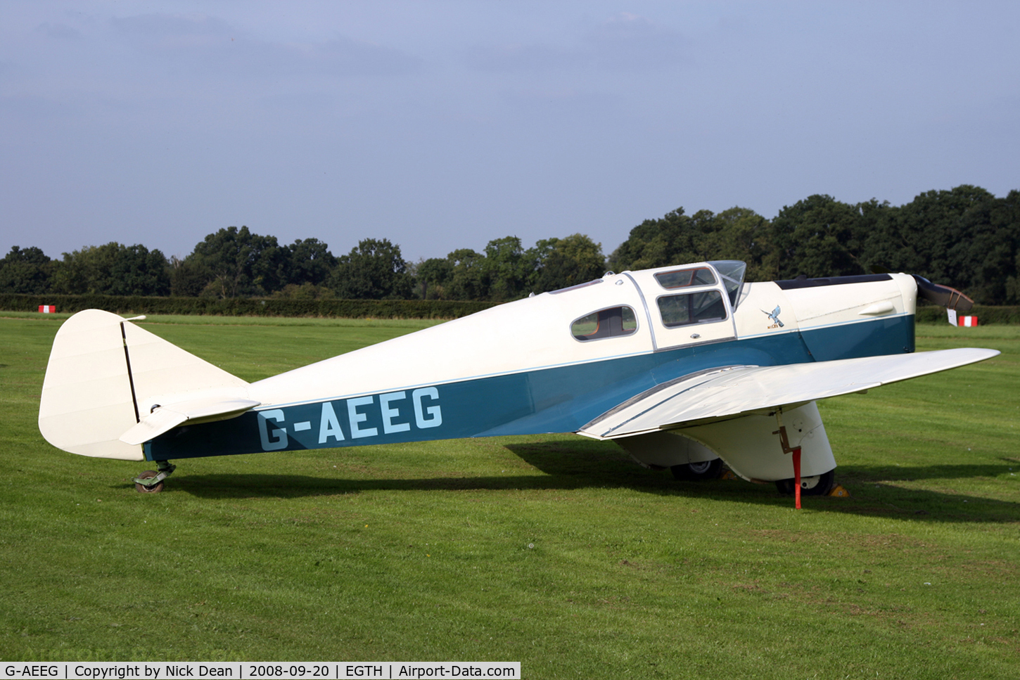 G-AEEG, 1936 Miles M-3A Falcon Major C/N 216, Old Warden (what a bloody gorgeous aircraft)