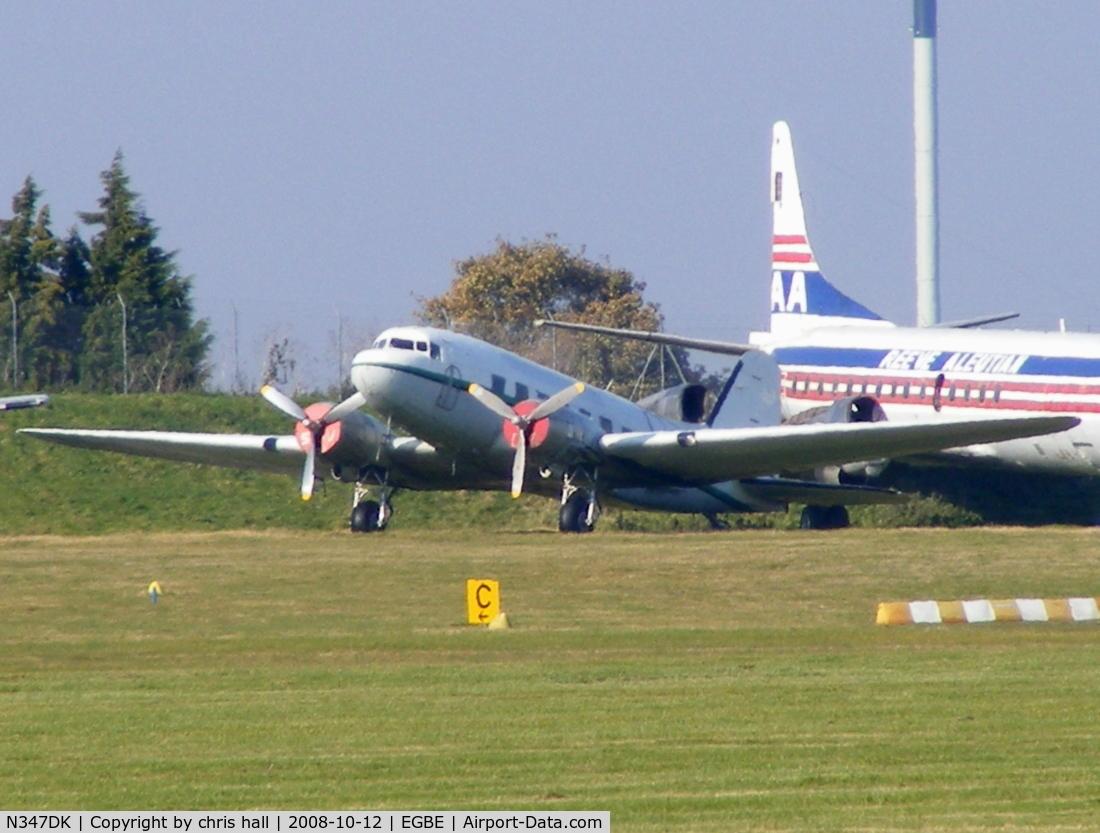 N347DK, 1944 Douglas DC-3A-467 C/N 16072/32820, AIR ATLANTIQUE