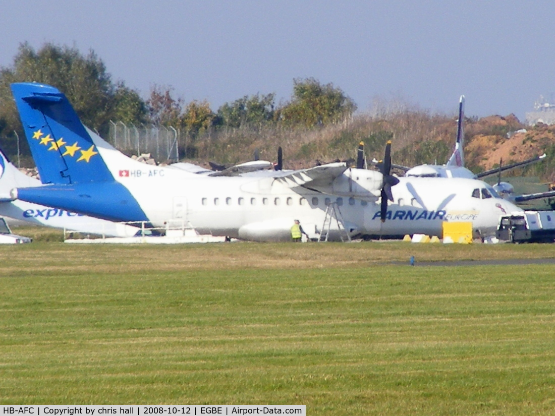 HB-AFC, 1988 ATR 42-320 C/N 087, Farnair