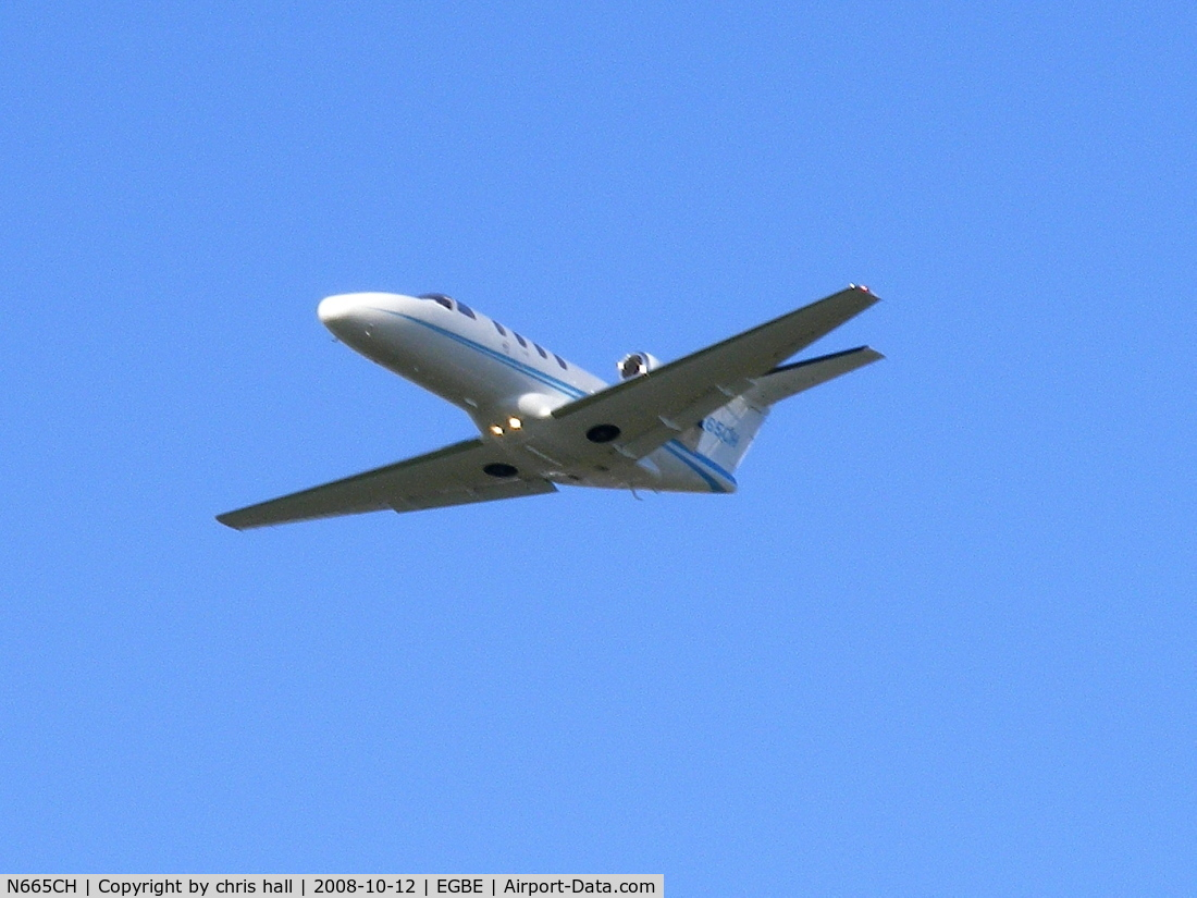 N665CH, 2002 Cessna 525 CitationJet CJ1 C/N 525-0504, Volante Aviation