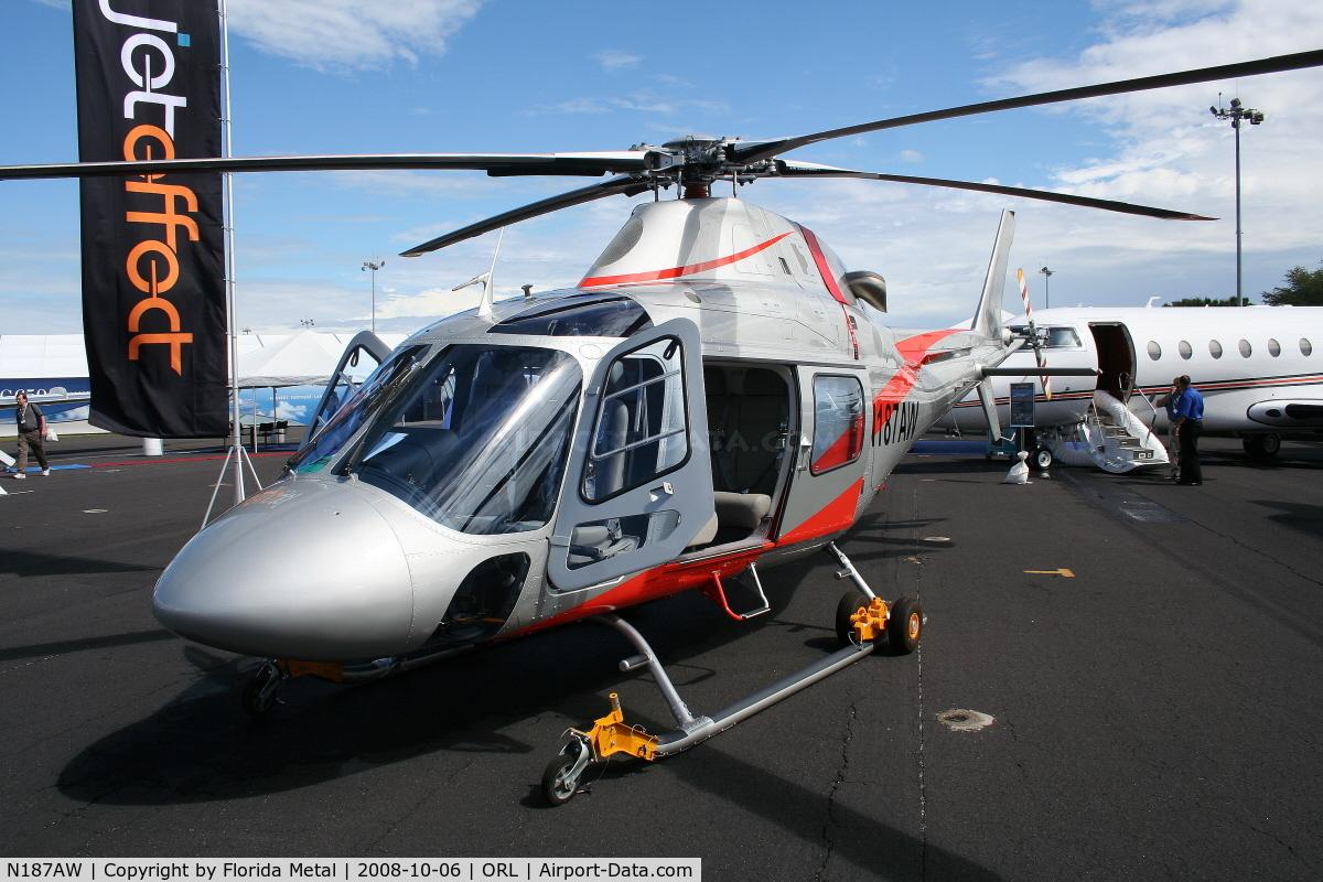 N187AW, 2007 Agusta A-119 Koala C/N 14539, August A119 at NBAA