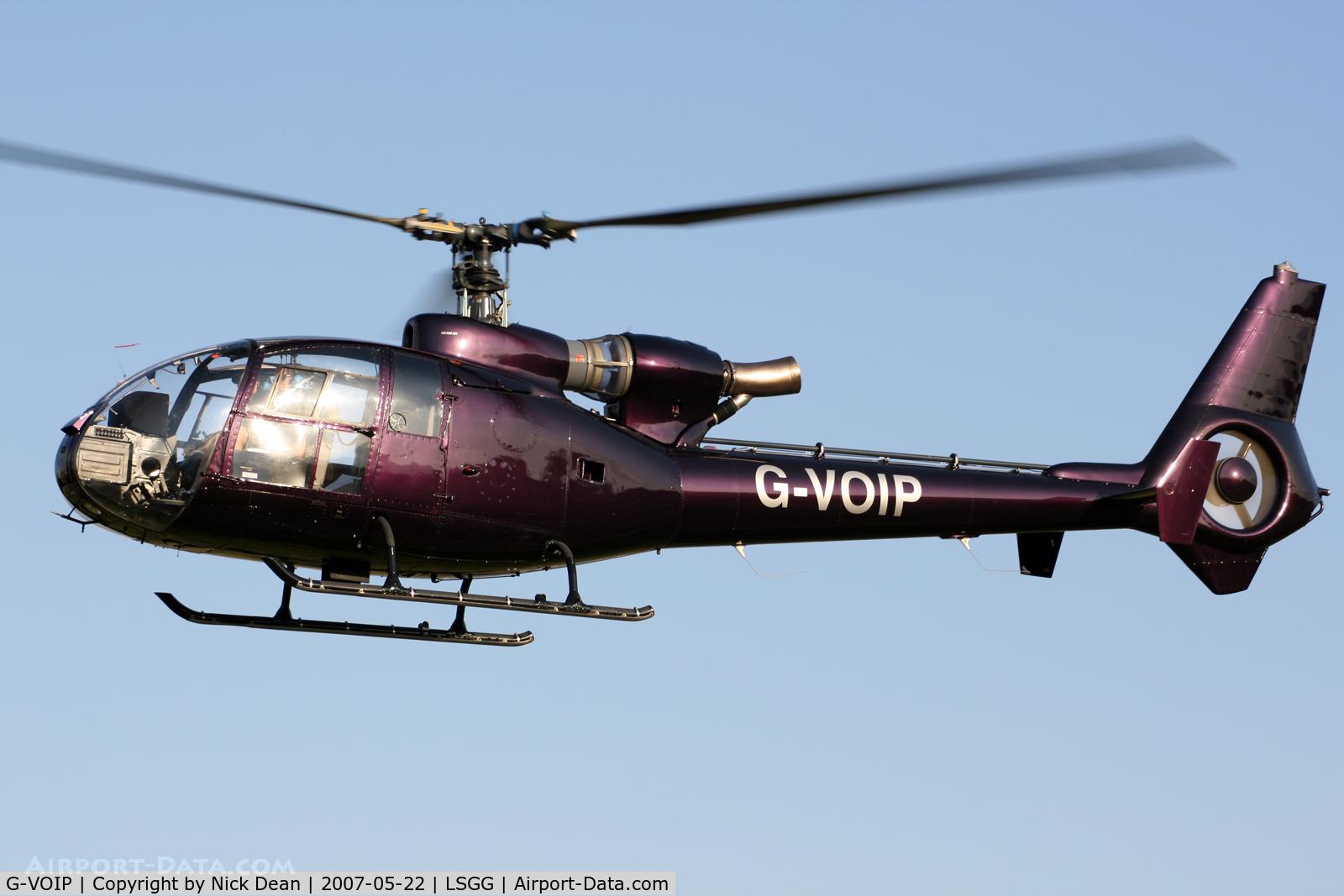 G-VOIP, 1979 Westland SA-341D Gazelle HT3 C/N WA1792, /