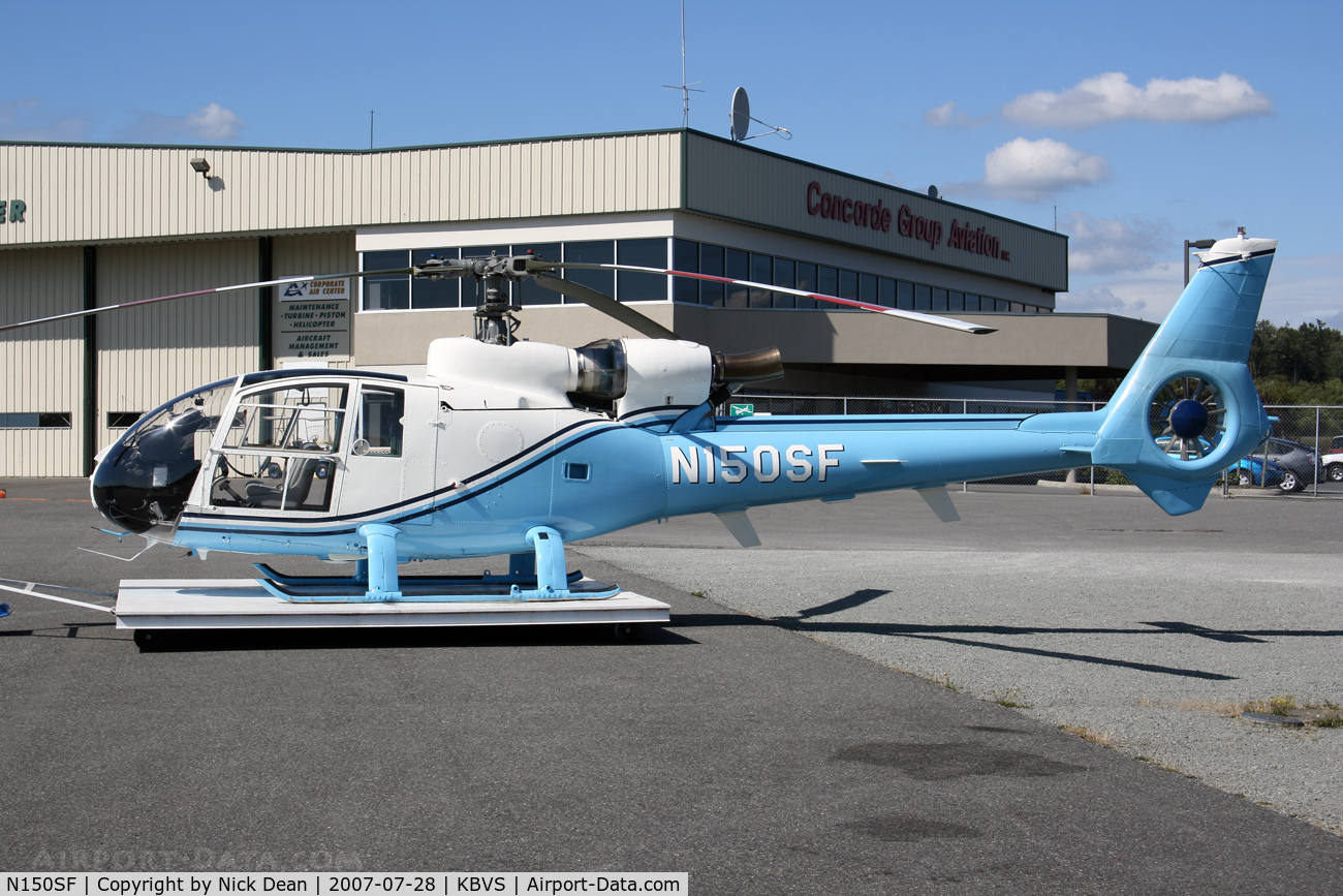 N150SF, 1978 Aerospatiale SA-341G Gazelle C/N 1584, Best looking helicopter ever conceived even though its French!!