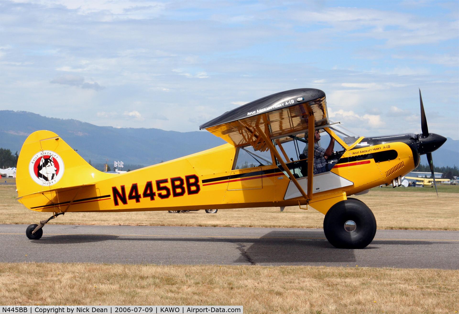 N445BB, 2005 Aviat A-1B Husky C/N 2314, /