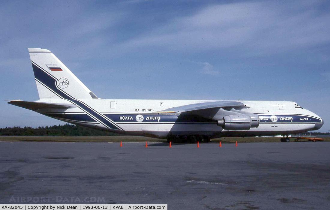 RA-82045, 1991 Antonov An-124-100 Ruslan C/N 9773052255113, Scanned from a slide