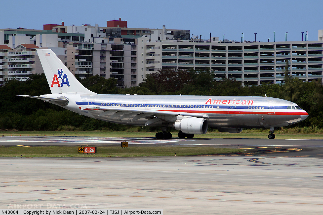 N40064, 1989 Airbus A300B4-605R C/N 507, /