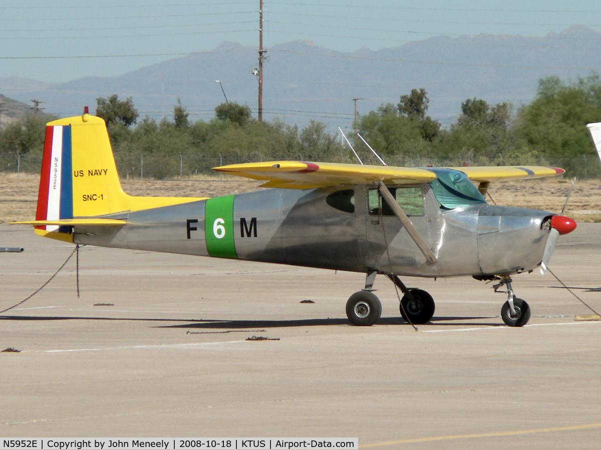 N5952E, 1959 Cessna 150 C/N 17452, Nice old Cessna