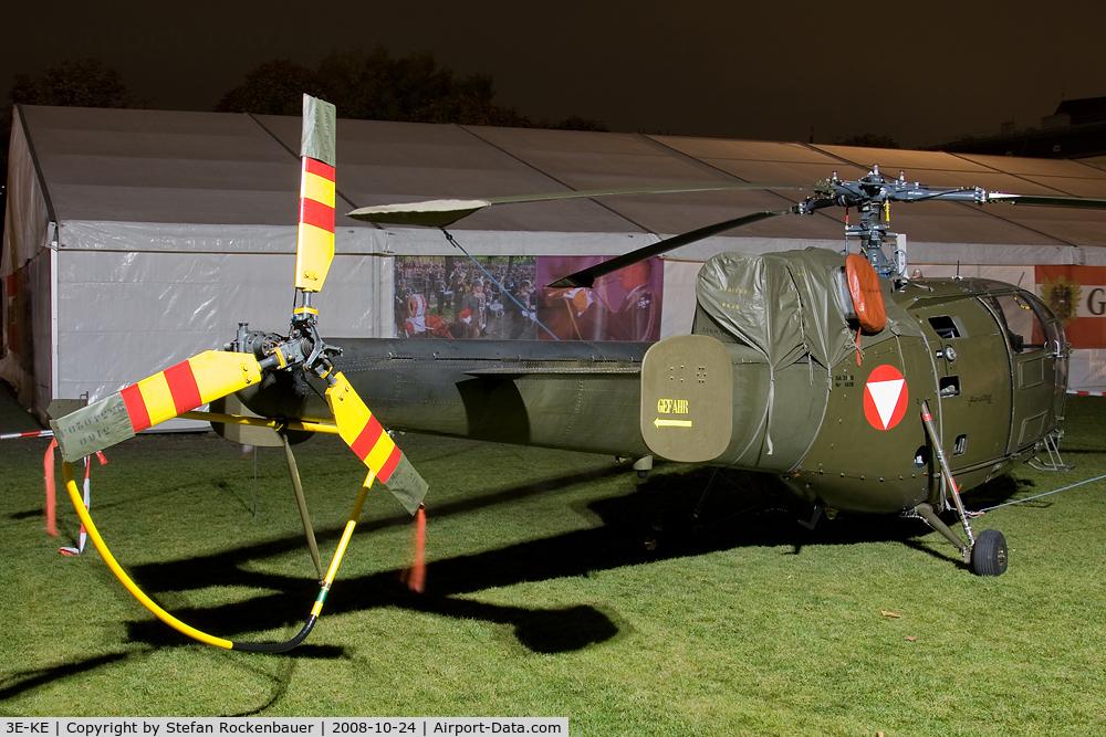 3E-KE, Aerospatiale SA-316B Alouette III C/N 1419, Alouette III