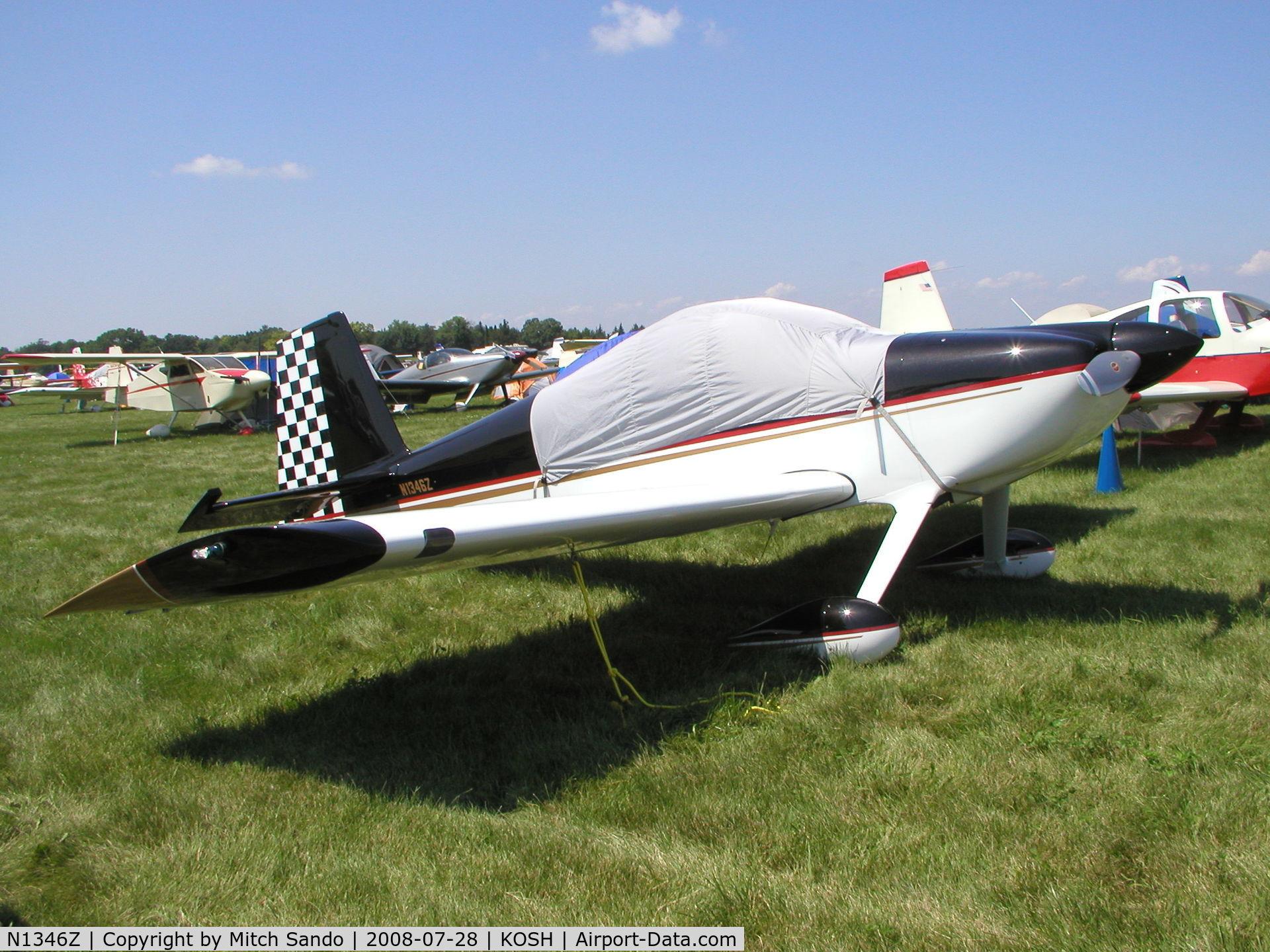 N1346Z, 2004 Vans RV-7 C/N 71029, EAA AirVenture 2008.