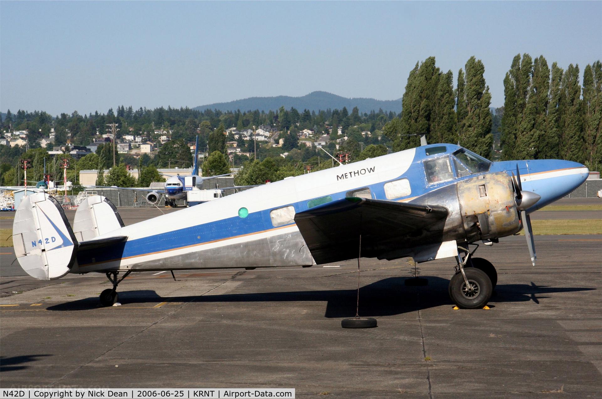 N42D, 1955 Beech E18S C/N BA-117, /