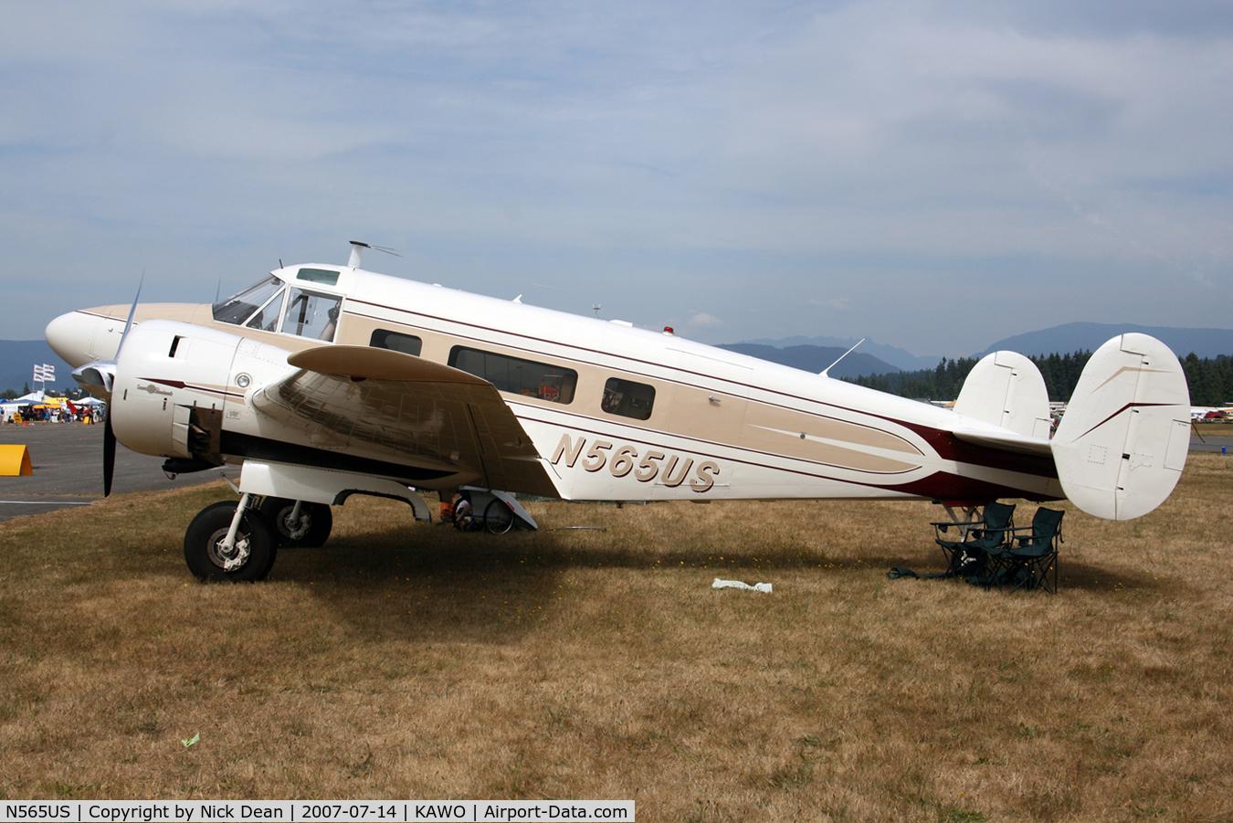 N565US, 1959 Beech G18S C/N BA-469, /