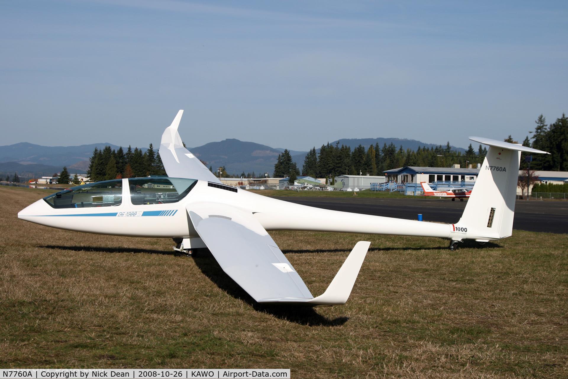 N7760A, 2003 DG Flugzeugbau DG-1000S C/N 10-34S33, /